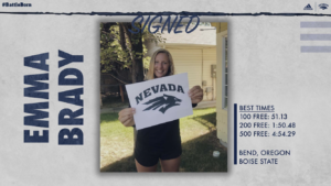 After Boise State Cut, Emma Brady Will Remain in the Mountain West