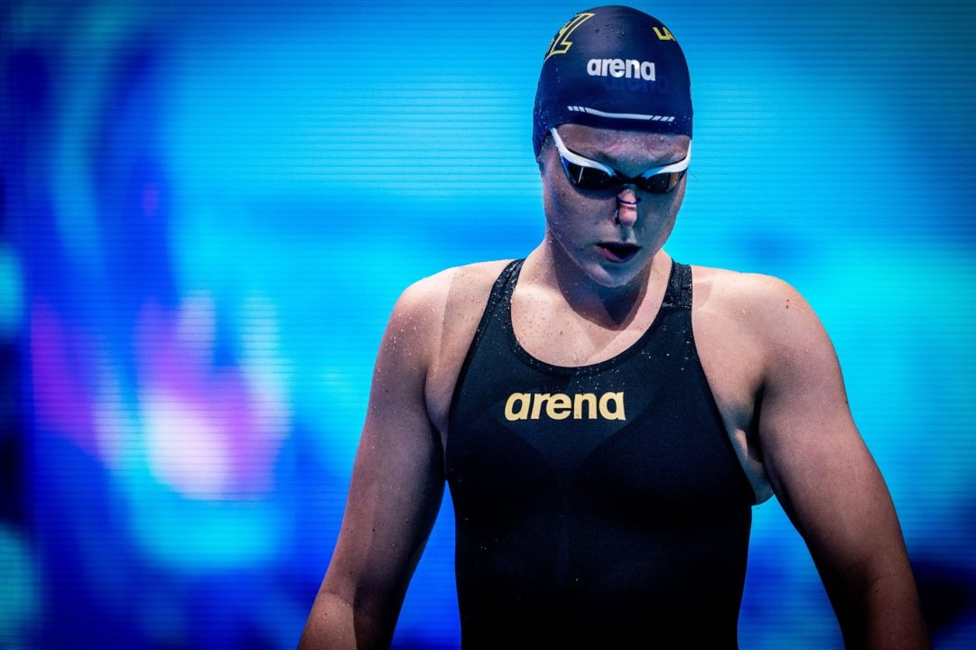 Anastasia Gorbenko pulveriza la plusmarca israelí en 100 estilos