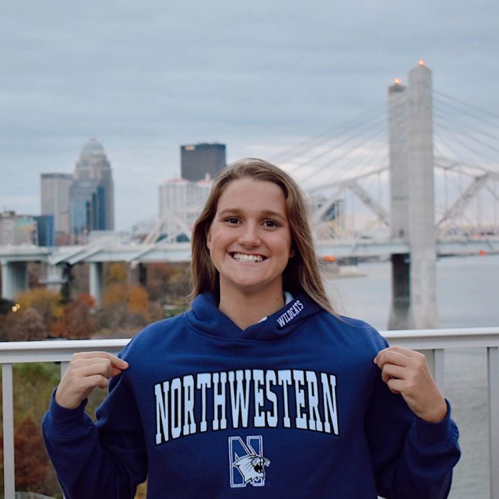 Northwestern Adds Kentucky HS 200/500 Free Champion Mackenzie Lanning (2022)