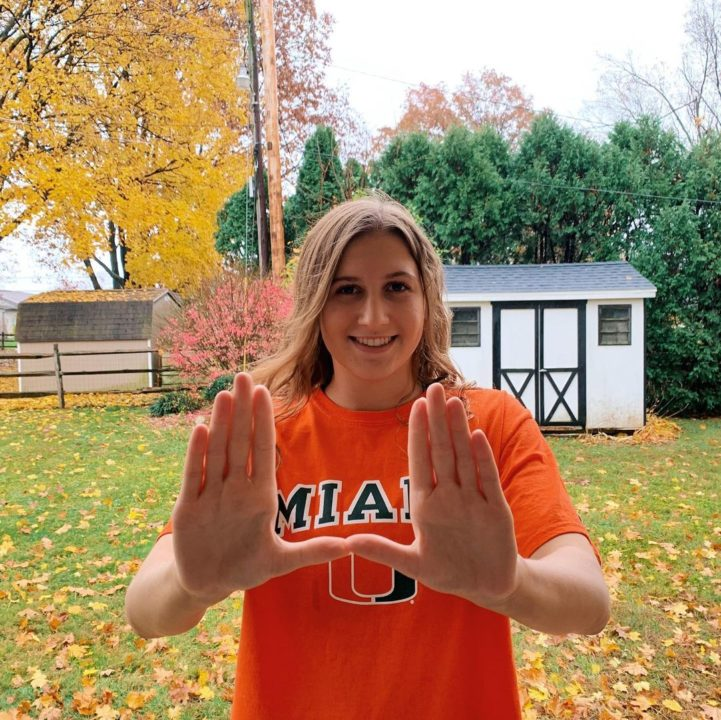 Miami Hurricanes Hit the Northeast Again with Pledge from PA's Kaitlyn Bitting