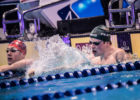 ISL Adam Peaty sets world record in 50 breaststroke ISL semifinals, Budapest Hungary (photo: Mike Lewis)