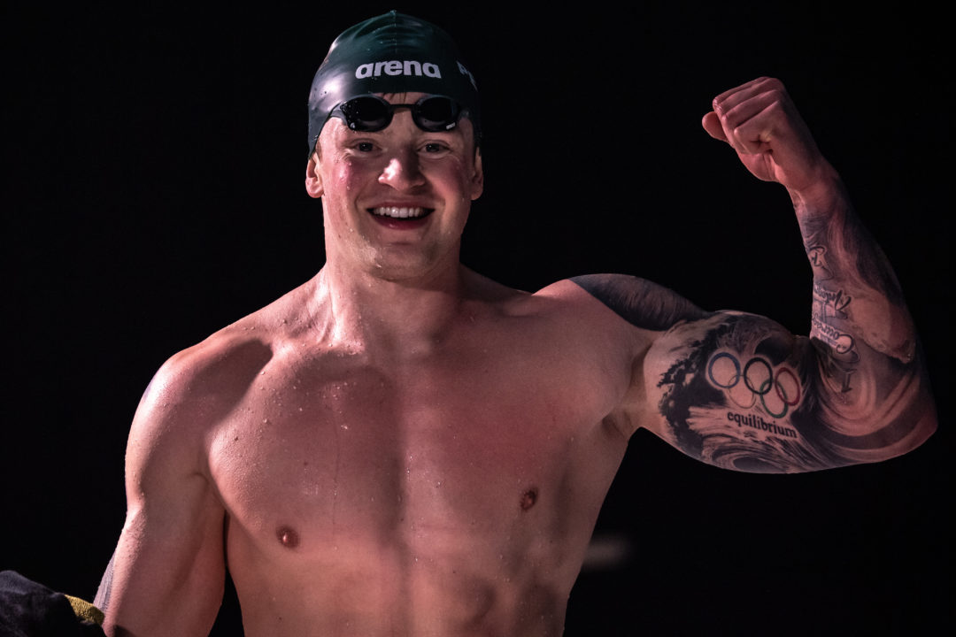 Adam Peaty Breaks His First-Ever World Record in Short Course Meters