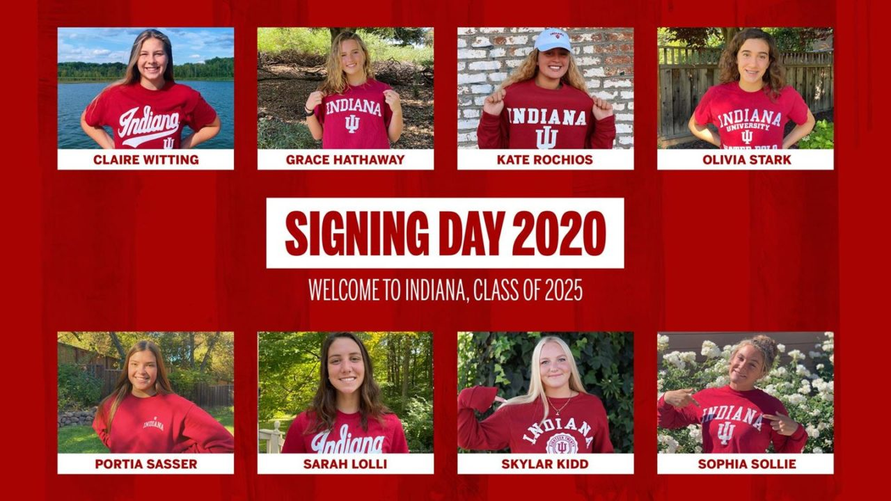 Indiana Women's Water Polo Announces 2021 Signing Class