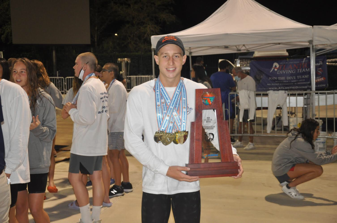 Andres Dupont Takes Down 20-Year-Old Bolles School 200 Freestyle Record