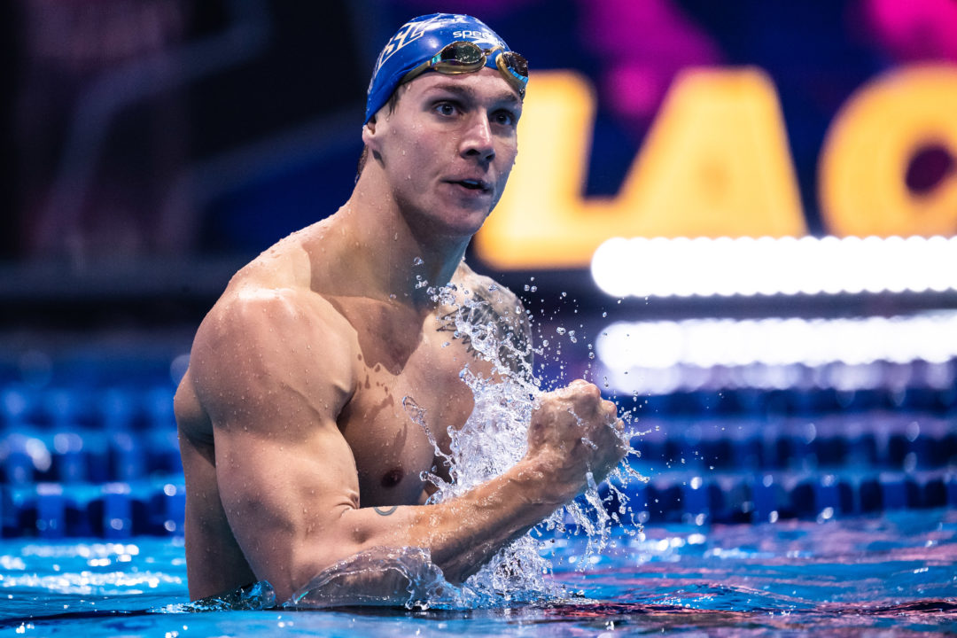 Caeleb's Crushing: Dressel Downs 50 Free World Record In 20.16