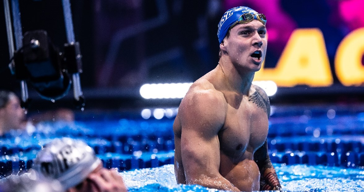 How Fast Can Caeleb Dressel Swim in a Now-Outlawed 2008 Speedo LZR?