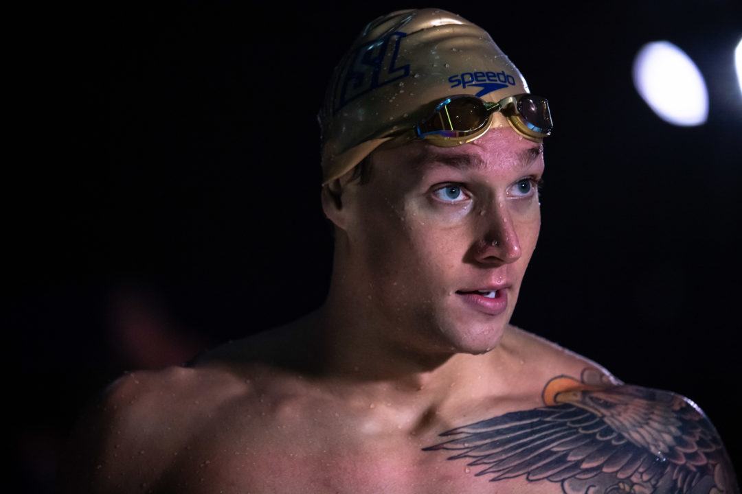 Dressel Takes on Four Individuals and the Relay: ISL Final Day 2 Start Lists