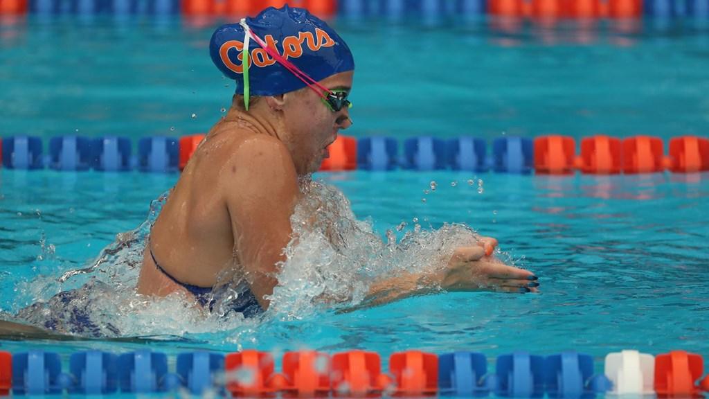 Auburn Fall Invite Day 2 Prelims: Florida's Cecilia Porter Drops 1:00.02 100 BR
