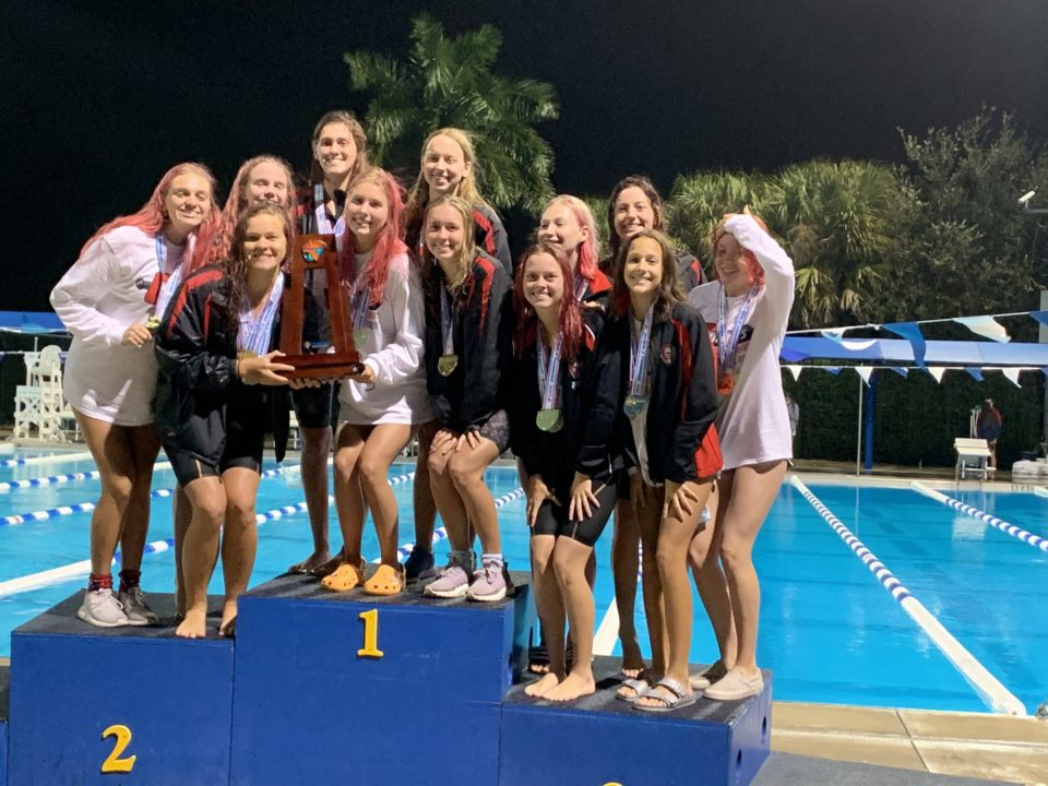 Lexi Mulvihill Sets State Record as Creekside and Oviedo Win Florida 4A Title