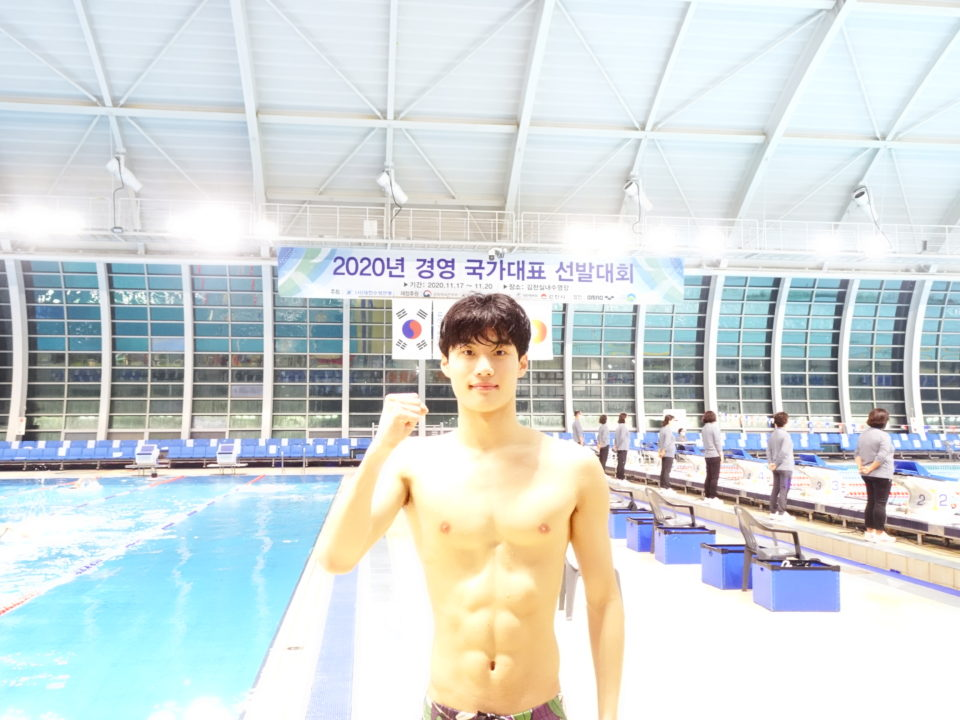 VIDEO: Teen Hwang Sun Woo Crushes Park Tae Hwan's KOR 100 Free Record – 48.25