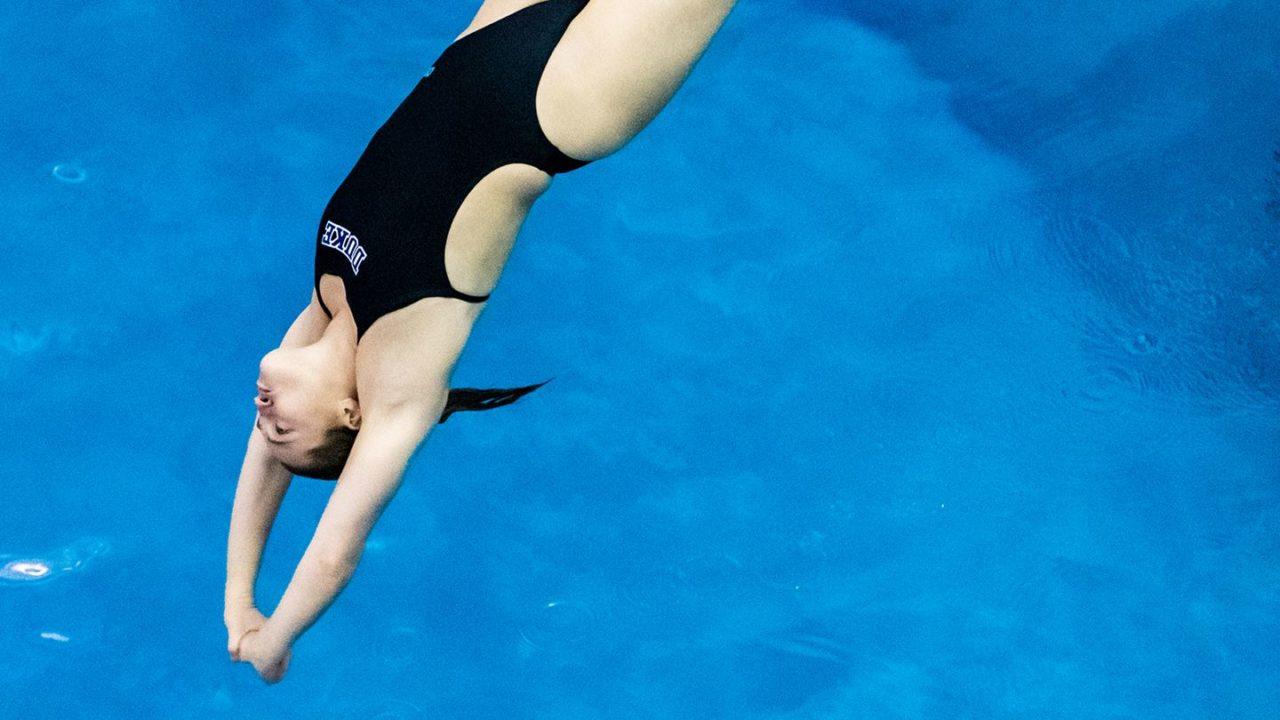 Duke To Host North Carolina For Diving Meet Saturday