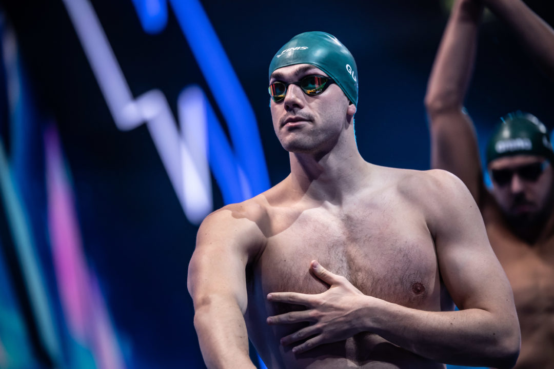 British Men Wipe Out Supersuited 400 Free Relay National Record
