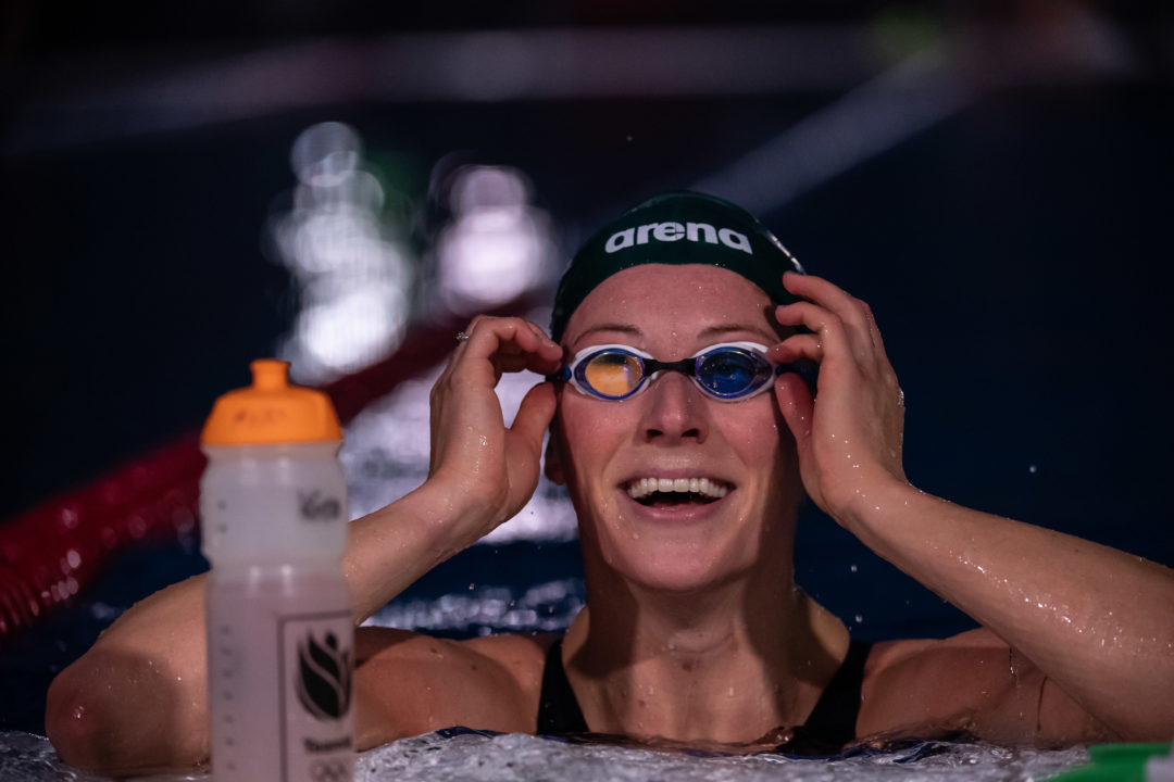 Kira Toussaint Shares Secret to Great Backstroke Underwaters after World Record