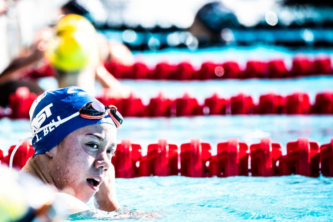Lucy Bell Moves To #16 in 15-16 Age Group History With 1:54.9 200 Fly