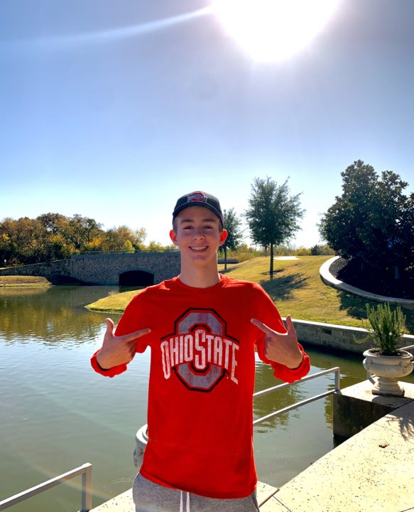 Ohio State Adds Distance Freestyler Mason Edmund for Fall 2022