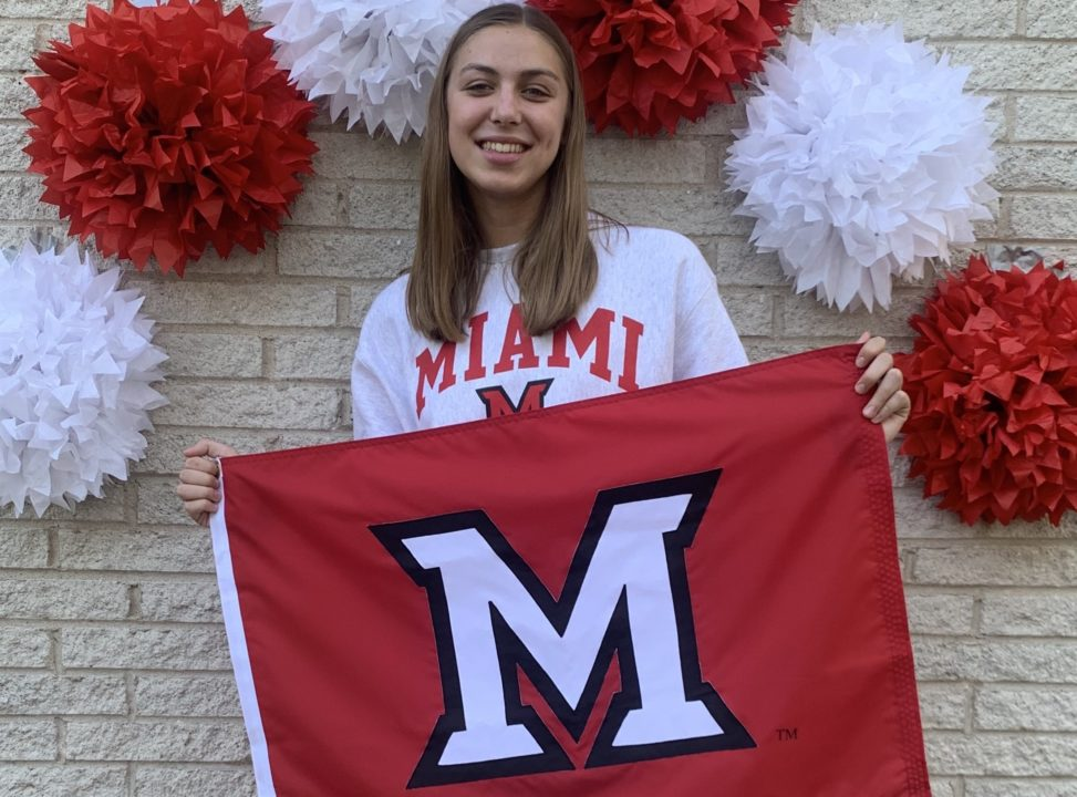 Illinois Girls HS Sectional Champion Madeline Padavic Commits to Miami (OH)