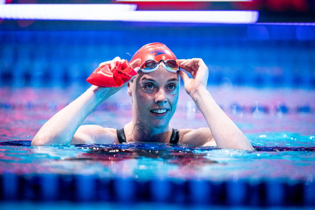 Energy Standard Women Unofficially Break 400 Free Relay World Record