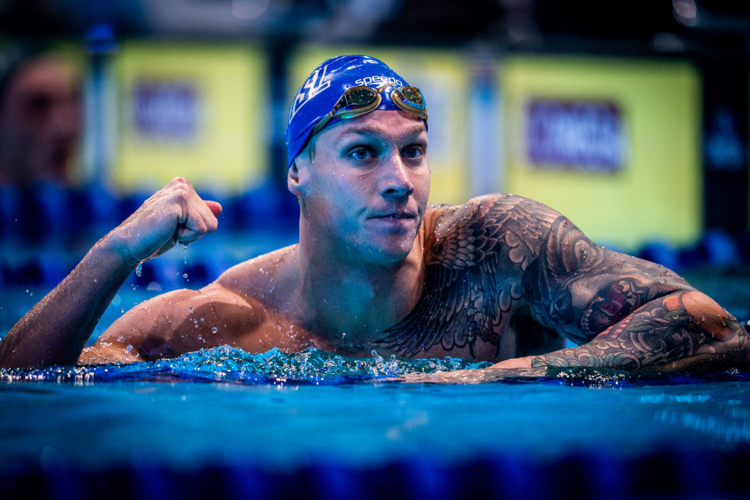 Caeleb Dressel Takes Down Ryan Lochte's 100 IM American Record In 50.48
