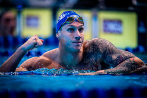 Dressel Is First Man Since 2007 To Own Records in 100 Yard, SCM, and LCM Fly