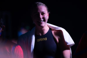 Sarah Sjostrom Returns to the Pool 3 Weeks After Elbow Surgery