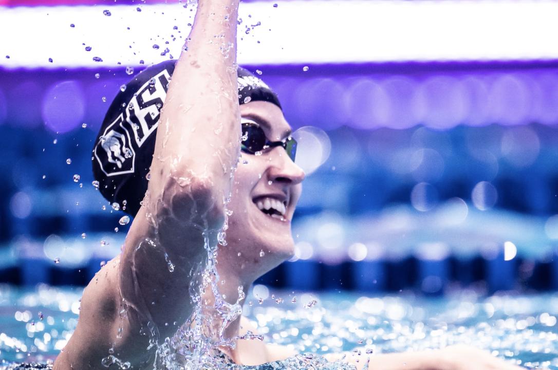 "Kasia Wasick on Pro Swim: ""My goal was to swim FINA A cut without resting"""