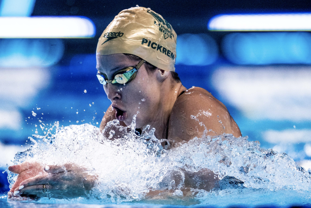 Sydney Pickrem Knocks Off Four-Year-Old Canadian Record In 400 IM