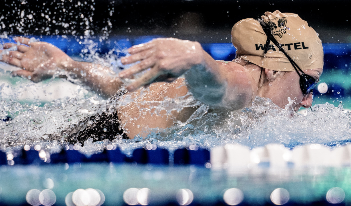 Wattel Closing In On 100 Fly Olympic Qualification At French C'ships
