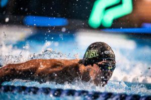 4 hombres nadan los 100 mariposa en 51 desde Tokio