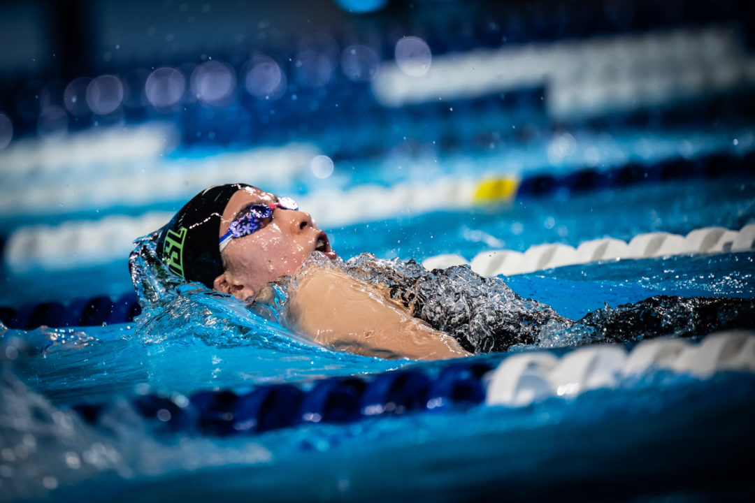 Ohashi Rips 4:36 400 IM On Day 2 Of Japan Open
