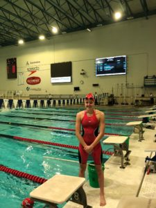 16-Year Old Faith Johnson of Rocket Aquatics Hits First Olympic Trials Standard