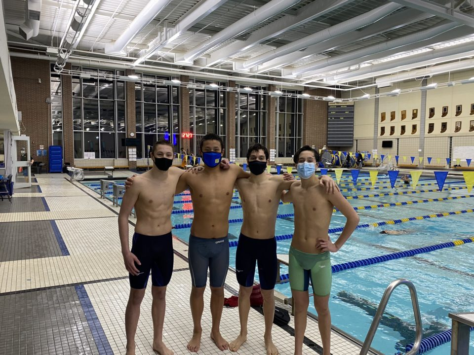 Carmel Swim Club Breaks Another National Age Group Record Amid Fast Session