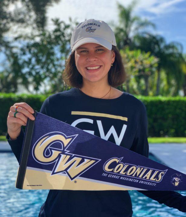 Florida HS 2A State Runner-Up Chloe Hernandez Sends Verbal to George Washington