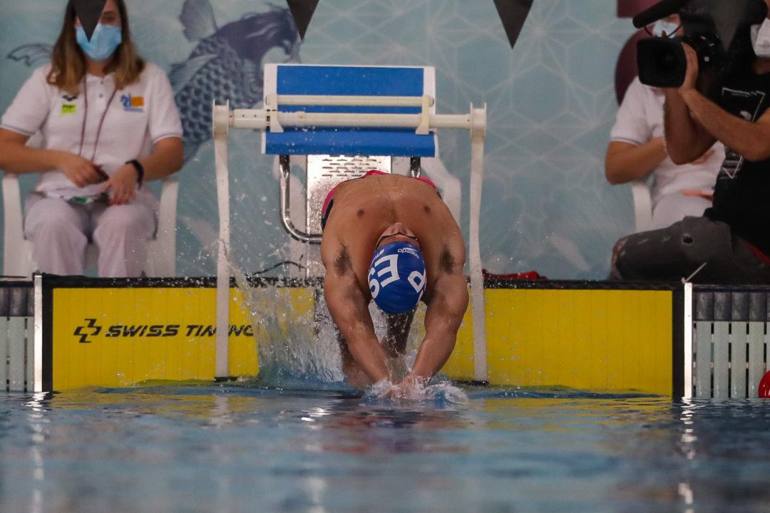 Hugo Gonzalez Will Swim 200 Back on Day 4 of Pac-12s (HEAT SHEETS)