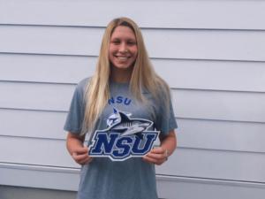 Nova Southeastern Picks up Verbal from Distance Freestyler Estelle Bauer