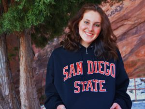 Winter Juniors Qualifier Abby Storm Verbally Commits to SDSU Aztecs for 2022-23