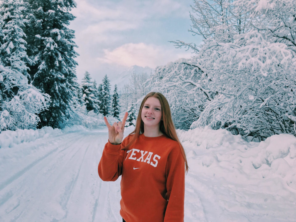Junior National Champion Lydia Jacoby Gives Texas Another Breaststroke Commit