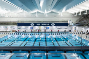 Josue Dominguez Swims 53.0 Breaststroke In BYU/Utah Time Trial Meet
