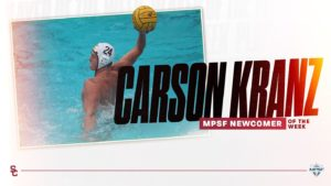USC Men Sweep MPSF Water Polo Awards In Week One