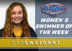 Emory & Henry's Madaris, Sweigart Named ODAC Swimmers of the Week