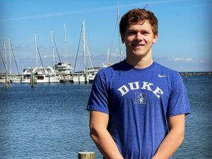 48.8 Backstroker Sean Rogers Gives Duke Men Their 1st 2022 Verbal Commitment