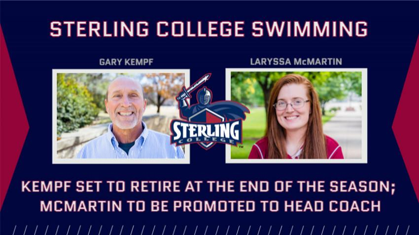 Sterling's Gary Kempf To Retire; Laryssa McMartin To Be Promoted To Head Coach