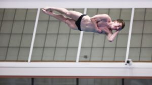 Bulldogs Sweep Opening Day of Georgia Diving Invite