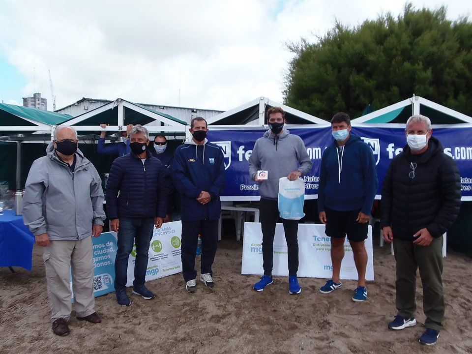 Argentina ya tiene sus representantes para el Preolímpico de aguas abiertas