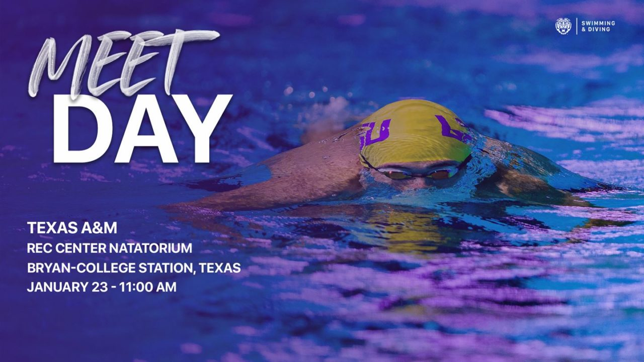 LSU Teams Head To College Station For Clash With Texas A&M