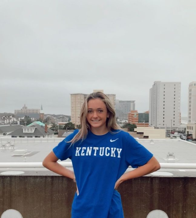 Sprinter Marin McKee Adds 23.4 50 Freestyle to Kentucky's Class of 2022