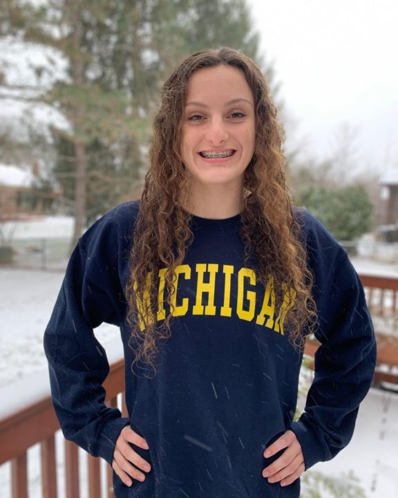 Michigan Adds 23.6 Fly Split Brady Kendall to Class of 2026
