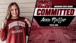 Anna Pfeiffer to Transfer to Missouri State After Her Freshman Season at Iowa