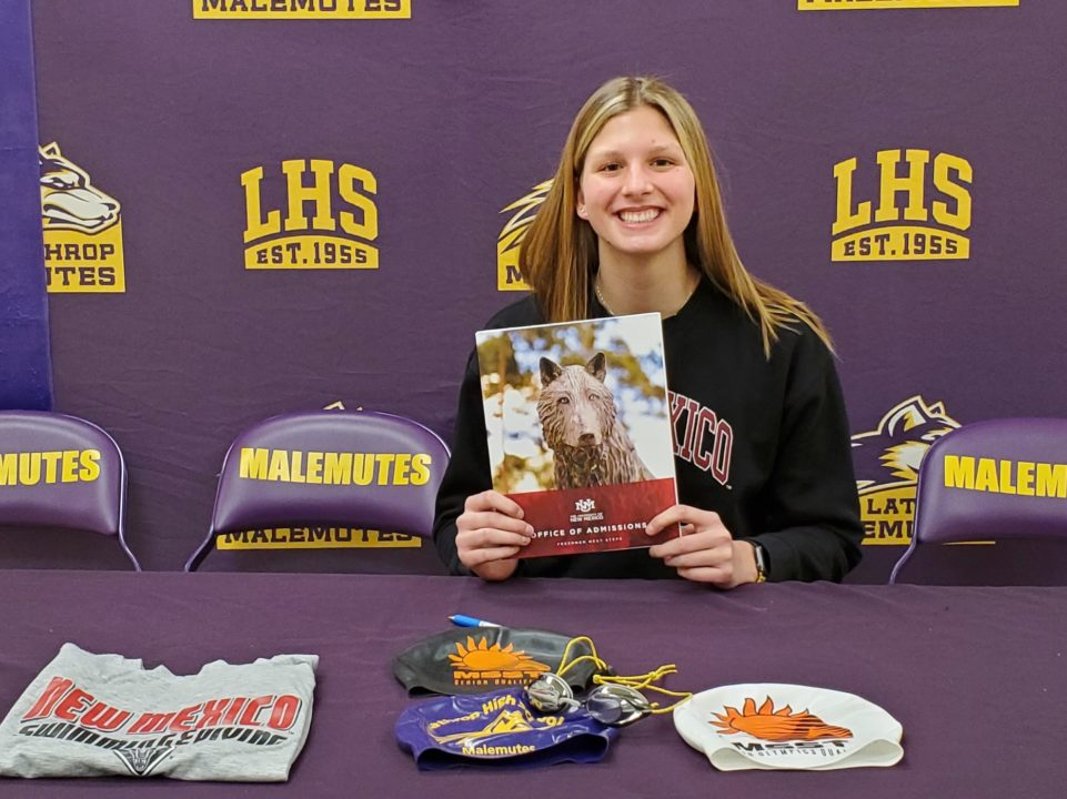 Alaska Sprint Champion Katy McCarter Signs NLI with New Mexico Lobos