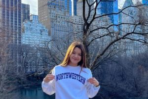 Summer Jrs A-Finalist Hana Shimizu-Bowers (2022) Chooses Northwestern