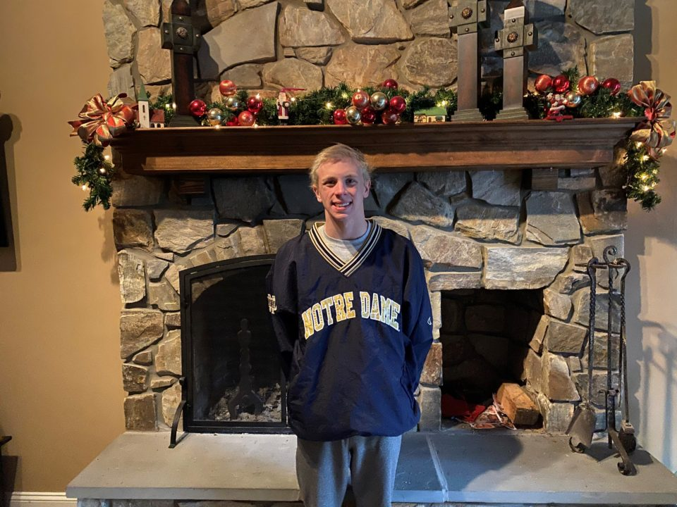 Olympic Trials Qualifier Tommy Janton Verbally Commits to Notre Dame (2022)